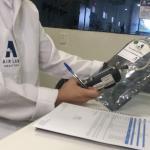 Laboratório de análise de ar