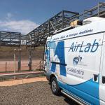 Laboratório móvel de gás de síntese