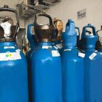 Gases medicinais em hospitais